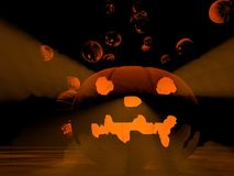 Halloweenowy temat Zdjęcia Royalty Free