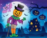 Halloweenowy temat postaci wizerunek 5 Zdjęcie Royalty Free