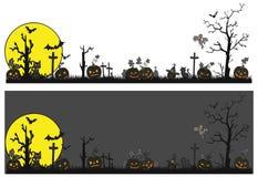 Halloweenowy temat straszny Fotografia Stock