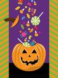 Halloweenowy Trikowy Lub funda Obrazy Stock