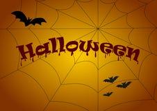 Halloweenowy ustawiający dla projekta ilustracja Obrazy Stock