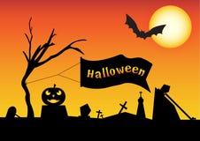 Halloweenowy wektor obraz royalty free