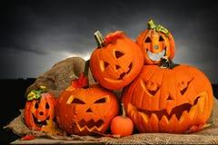 Halloweenowy wystrój Fotografia Stock