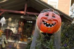 Halloweenowy wystrój Fotografia Royalty Free