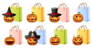 Halloweenowy Zakupy Obraz Royalty Free