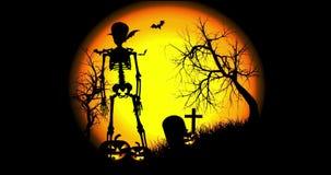 Halloweenowy Zredukowany taniec royalty ilustracja