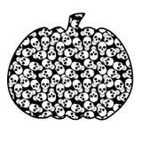 Halloweens bania ilustracji