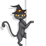 Halloweens cat peeps Royalty Free Stock Photos