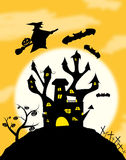 Halloweens night Royalty Free Stock Images