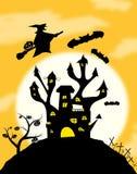 halloweens noc ilustracja wektor