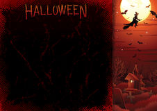 Halloweens Wektoru Plakat royalty ilustracja