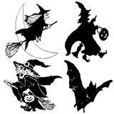 Halloweensymbols Foto de Stock Royalty Free
