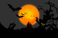 Hallowen background Royalty Free Stock Photo