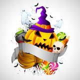Hallowen Background Royalty Free Stock Photography