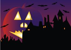 Hallowen Background Stock Photography