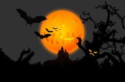 Hallowen Hintergrund Lizenzfreies Stockfoto