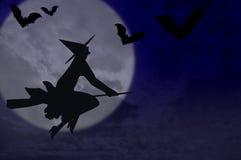 Hallowen Hintergrund Lizenzfreies Stockbild