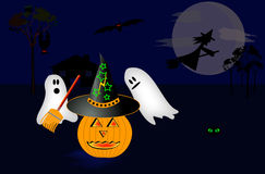 Hallowen illustration Stock Photography