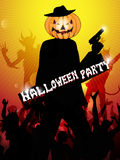 Hallowen party background Stock Image