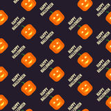 Hallowen Pattern Background Stock Image