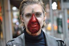 Hallowwen i New York City, 2014 royaltyfri bild