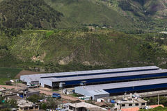 Halls in Central Ecuador Stock Photos