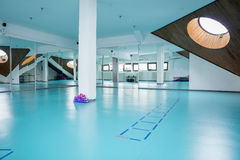 Halls for exercise Royalty Free Stock Image