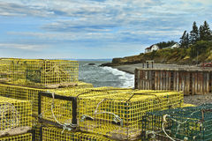 Halls Harbour Nova Scotia Royalty Free Stock Photography