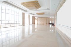 The halls. A luxurious conference hall outside Royalty Free Stock Photo