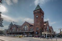 Halls Max Berg du marché à Wroclaw en Pologne photos stock