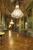 In the halls of Munich Residenz Stock Image