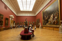 In the halls of the Russian Museum Royalty Free Stock Image
