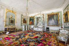 In the halls of Versailles Royalty Free Stock Photo
