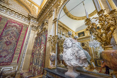 In the halls of Versailles Stock Image
