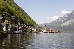 Hallstadt en Austria Imagen de archivo libre de regalías