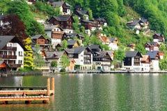 Hallstadt, Oostenrijk Stock Afbeeldingen