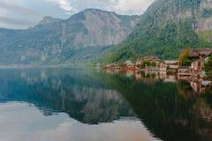 Hallstat Австрия Альпы Стоковое Изображение