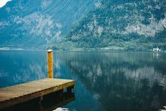 Hallstat Австрия Альпы Стоковое Фото