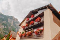 Hallstat Австрия Альпы Стоковая Фотография RF