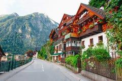 Hallstat Австрия Альпы Стоковые Изображения RF