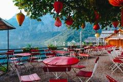 Hallstat Австрия Стоковое Изображение