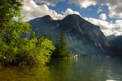 Hallstat lake Stock Photo