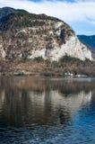 Hallstatt山脉 免版税库存照片
