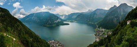 Hallstatt, Áustria, montanhas Fotos de Stock Royalty Free