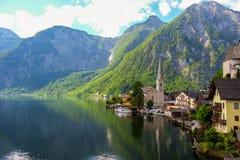 Hallstatt Österreich Lizenzfreie Stockfotografie