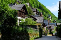 Hallstatt Österreich Stockbilder