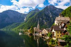 Hallstatt Österreich Stockfoto