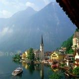 Hallstatt, Österreich lizenzfreie stockbilder