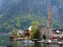 Hallstatt, Österreich lizenzfreies stockfoto