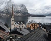 Hallstatt Österreich Stockbild